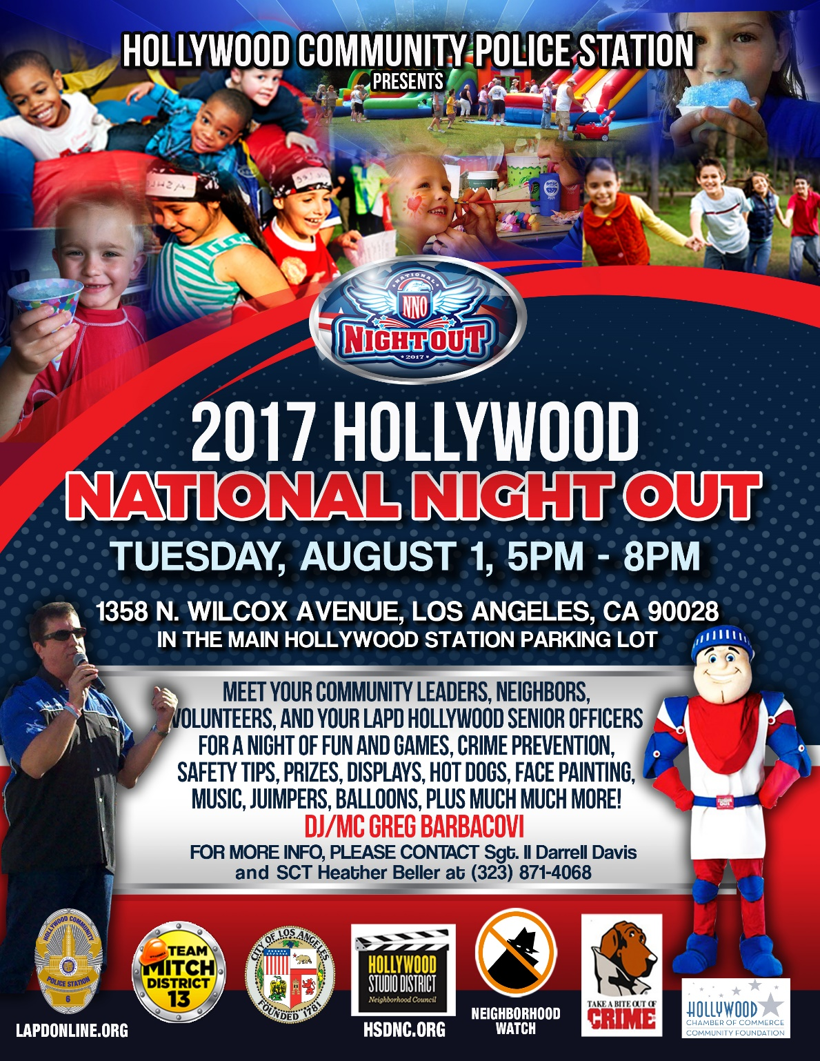 LAPD Hollywood Division National Night Out – Hollywood ...